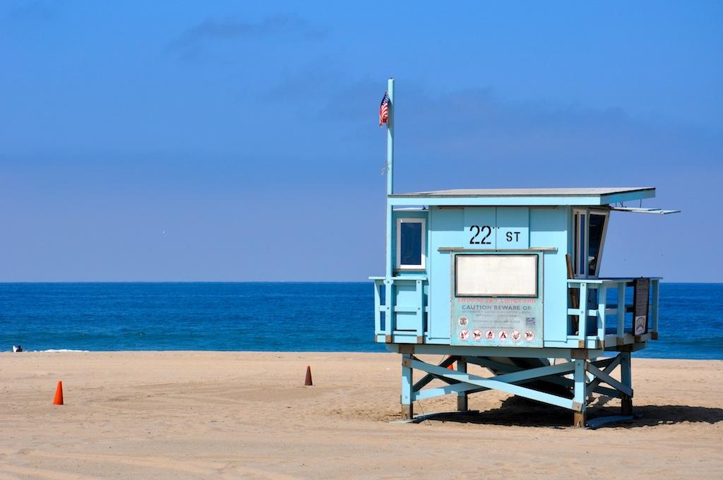 Hermosa Beach 22nd Street Lifeguard Tower