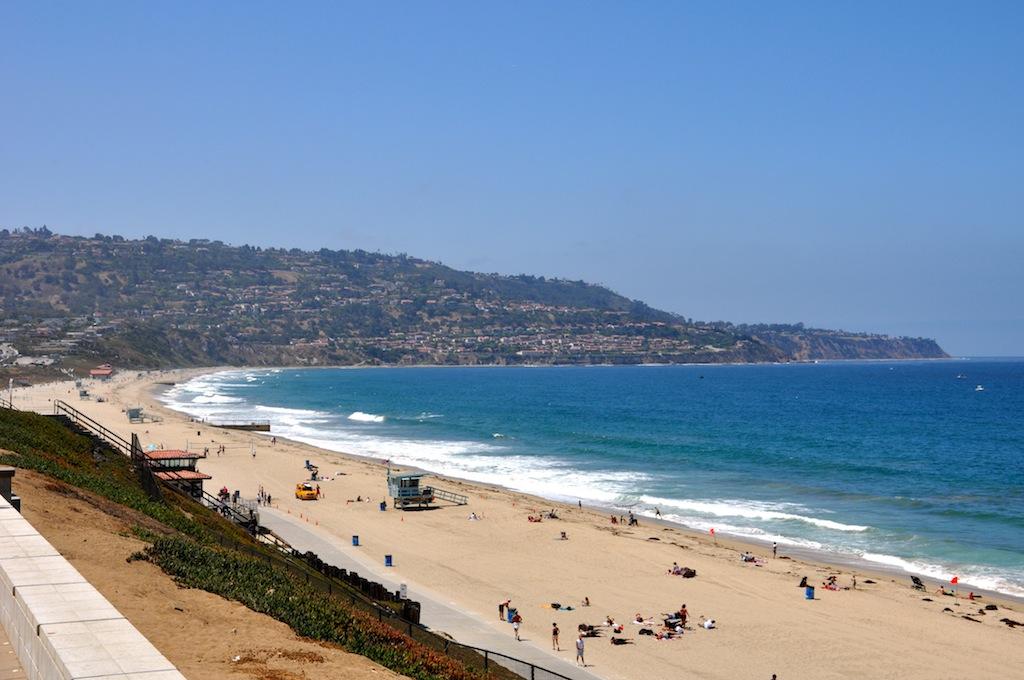 Palos Verdes Peninsula from top of Redondo Beach bluffs