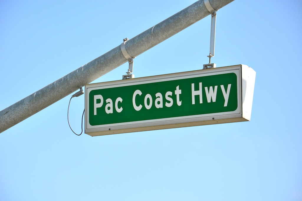 Pacific Coast Highway Sign