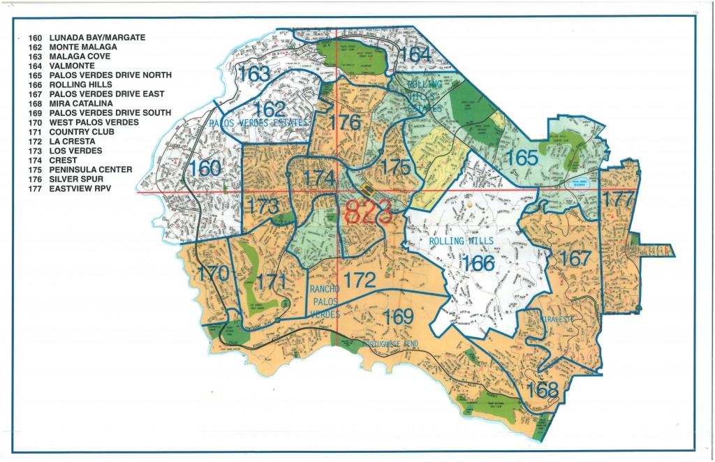 Palos Verdes Cities Real Estate Map